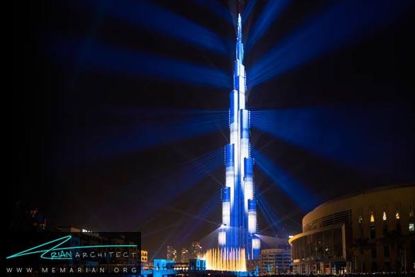 برج خلیفه دبی، بلندترین آسمان خراش دنیا (5)