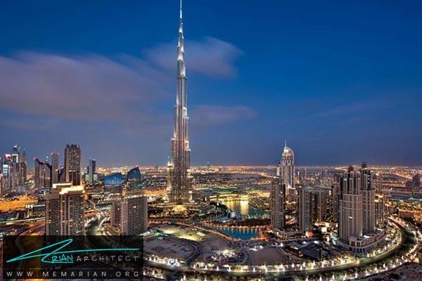 برج خلیفه دبی، بلندترین آسمان خراش دنیا (9)