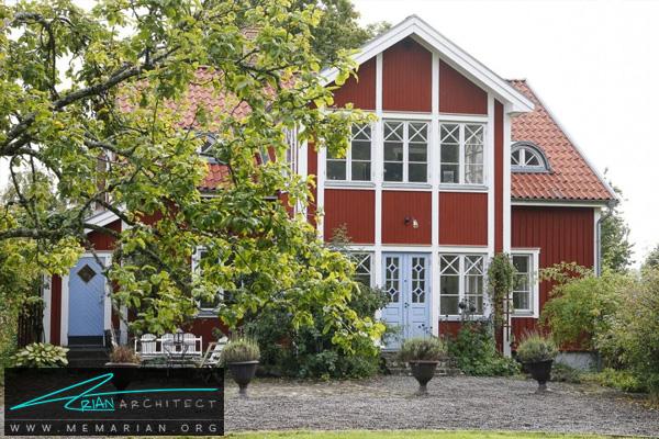 معماری و طراحی دکوراسیون به سبک سوئدی -سبک های مختلف معماری