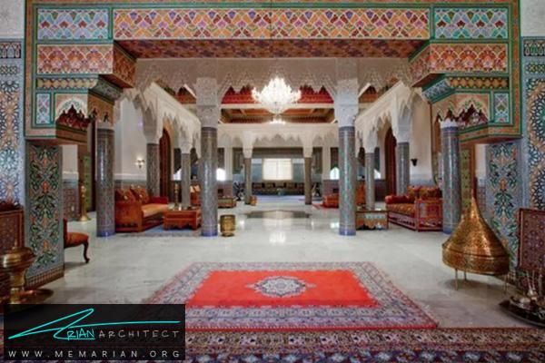 معماری و طراحی دکوراسیون به سبک مراکشی -سبک های مختلف معماری
