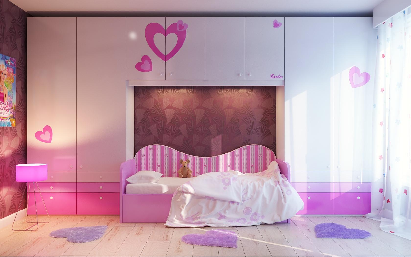 14 نمونه از بهترین دکوراسیون های اتاق خواب دختر