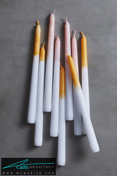 شمع های ذوب شده -دکوراسیون هالووین