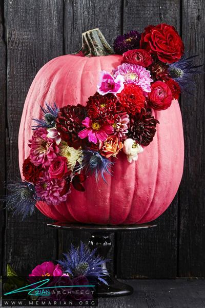 کدو تنبل تزئینی -دکوراسیون هالووین