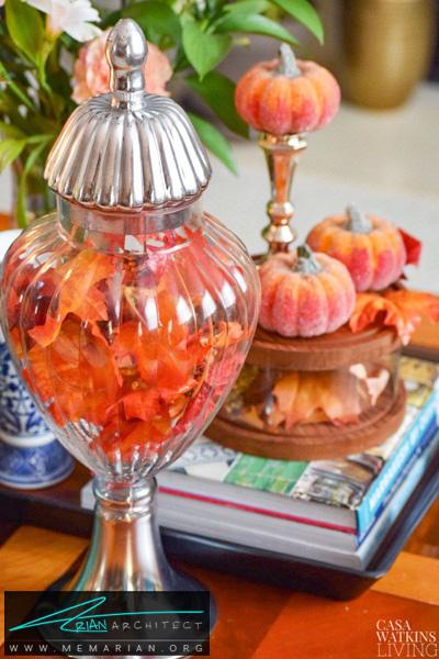 ترکیب ملزومات هالووین با ظروف سنتی -دکوراسیون هالووین