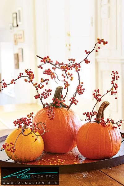 شاخه های کدو-دکوراسیون هالووین