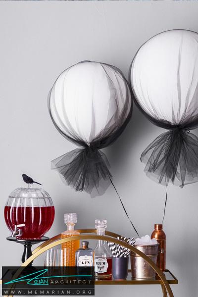 بادکنک های هلیومی -دکوراسیون هالووین