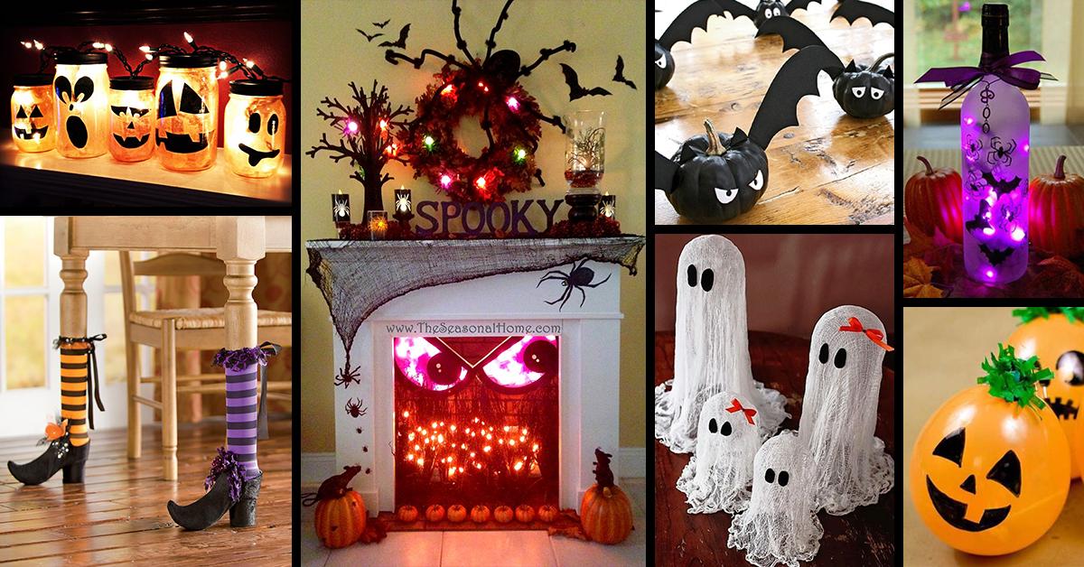 معرفی 30 ایده جذاب دکوراسیون هالووین