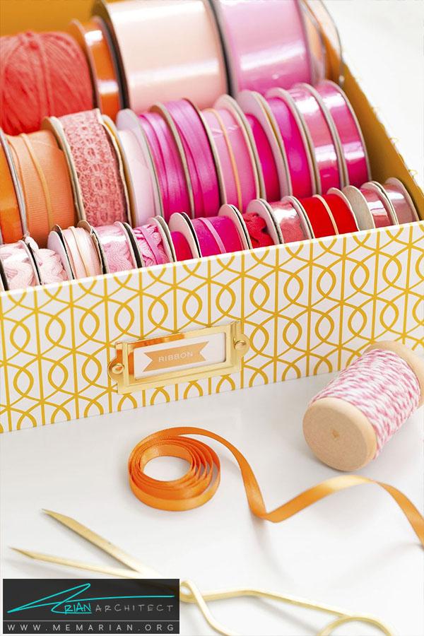 جعبه نخ و سوزن -سازماندهی خانه