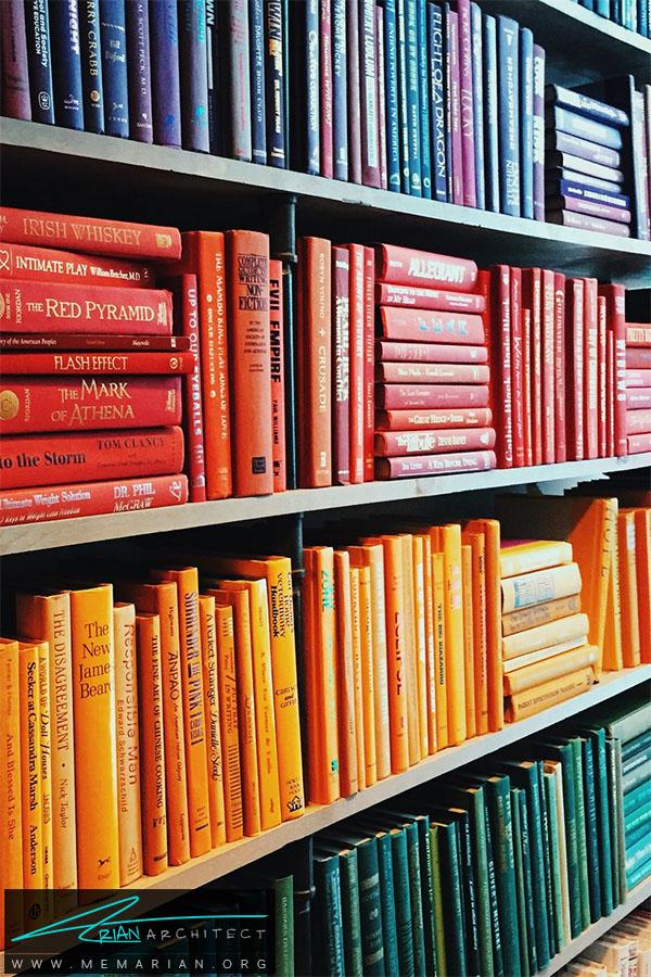 استفاده از کتابخانه -سازماندهی خانه