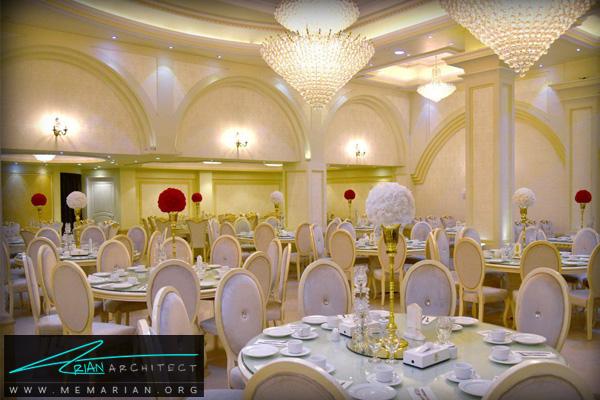 معماری و طراحی داخلی تالار پذیرایی (2)