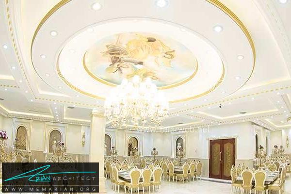 معماری و طراحی داخلی تالار پذیرایی (4)