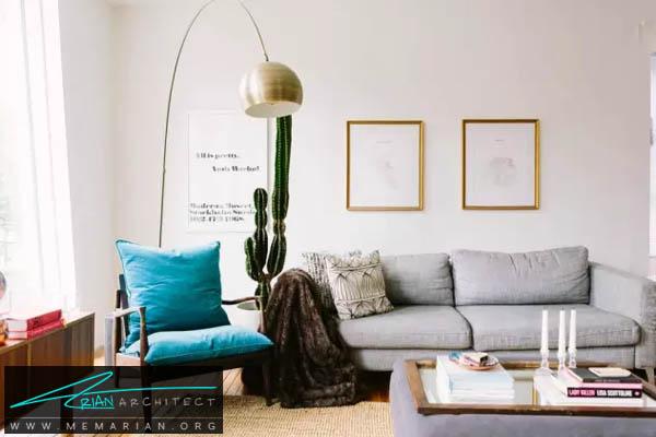 انتخاب بهترین مبلمان راحتی و استیل در خانه - اصول چیدمان مبلمان
