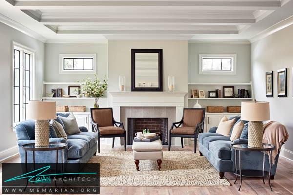 مبلمان کلاسیک و جذاب در منزل - اصول چیدمان مبلمان