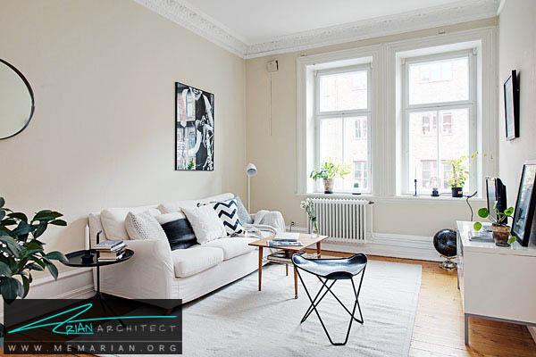 رنگ بندی مبلمان خانه - اصول چیدمان مبلمان