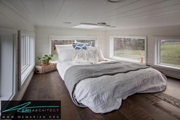 بکارگیری تمام نور طبیعی دردکوراسیون اتاق خواب کوچک-دکوراسیون اتاق خواب کوچک