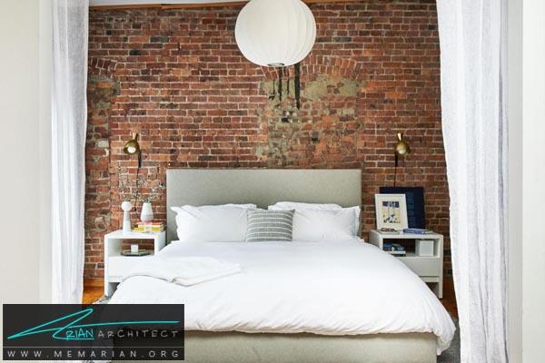 اضافه کردن یک پارتیشن-دکوراسیون اتاق خواب کوچک