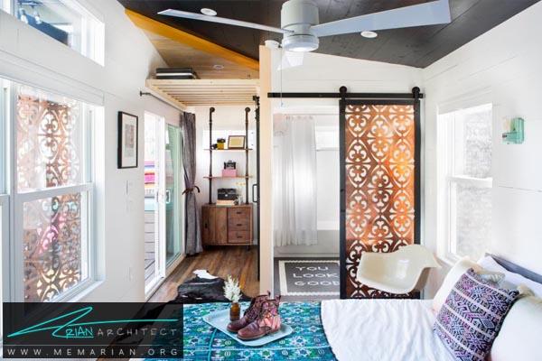 هنر را در هرجایی که می توانید بکار ببرید-دکوراسیون اتاق خواب کوچک