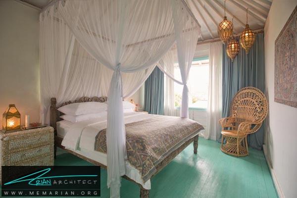 اهمیت نور دردکوراسیون اتاق خواب کوچک -دکوراسیون اتاق خواب کوچک