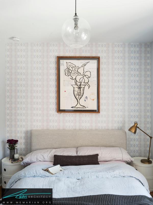 تخت خواب های کوتاه-دکوراسیون اتاق خواب کوچک