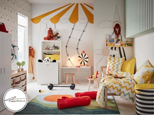 دکوراسیون داخلی اتاق خواب کودک و نوجوان (8) - تزئین دکوراسیون اتاق کودک