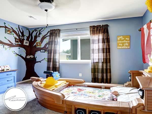 دکوراسیون داخلی اتاق خواب کودک و نوجوان (19) - تزئین دکوراسیون اتاق کودک