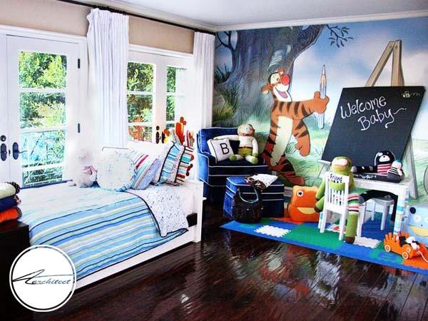 دکوراسیون داخلی اتاق خواب کودک و نوجوان (18) - تزئین دکوراسیون اتاق کودک