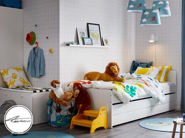 دکوراسیون داخلی اتاق خواب کودک و نوجوان (17) - تزئین دکوراسیون اتاق کودک