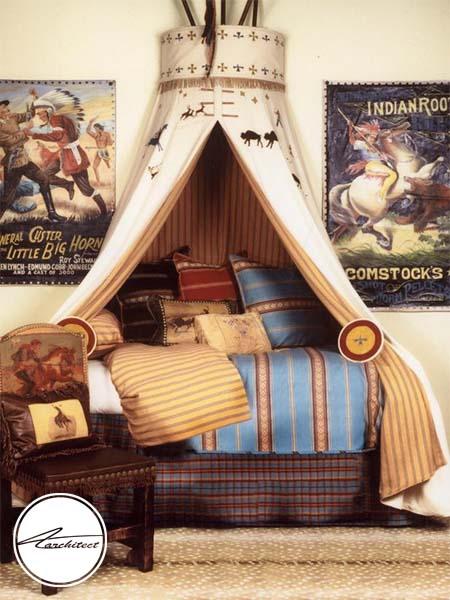 تزئین دکوراسیون اتاق کودک با استفاده از سبک غربی-تزئین دکوراسیون اتاق کودک