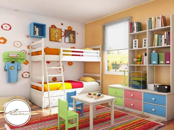 دکوراسیون داخلی اتاق خواب کودک و نوجوان (15) - تزئین دکوراسیون اتاق کودک