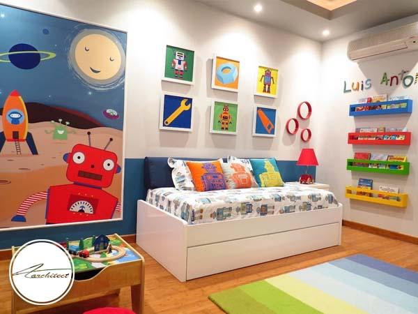دکوراسیون داخلی اتاق خواب کودک و نوجوان (14) - تزئین دکوراسیون اتاق کودک