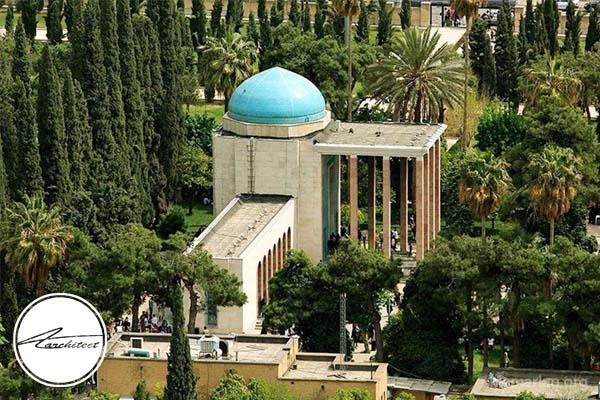 معماری بنای تاریخی سعدیه در شیراز -معماری بناهای تاریخی ایران