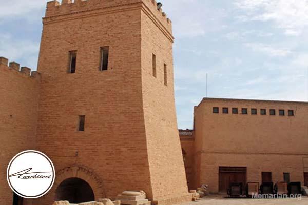 معماری بنای تاریخی قلعه شوش در خوزستان -معماری بناهای تاریخی ایران