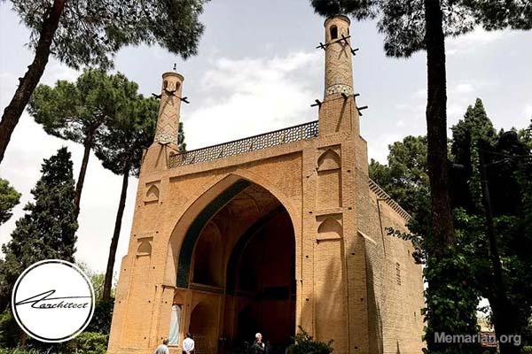معماری بنا تاریخی منارجنبان در اصفهان -معماری بناهای تاریخی ایران