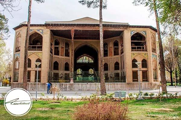 معماری عمارت تاریخیکاخ هشت در اصفهان -معماری بناهای تاریخی ایران