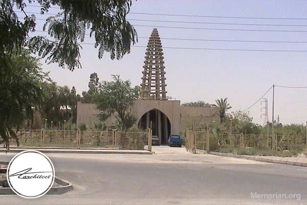 معماری موزه آبادان در آبادان -معماری بناهای تاریخی ایران