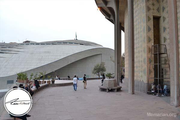 معماری مسجد حضرت ولیعصر (عج) در تهران -معماری بناهای تاریخی ایران