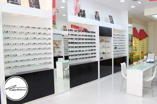نکات کاربردی جهت زیباتر شدندکوراسیون مغازه عینک فروشی
