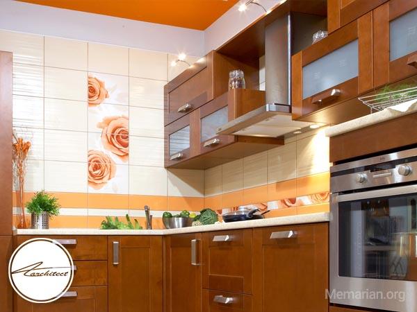 استفاده از کابینت دردکوراسیون آشپزخانه ایرانی