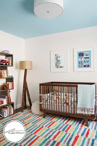 رنگ های روشن و شاد در اتاق کودک -اتاق کودک