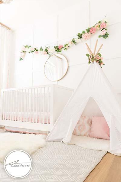 اتاق خواب دختر بچه نوپا -اتاق کودک