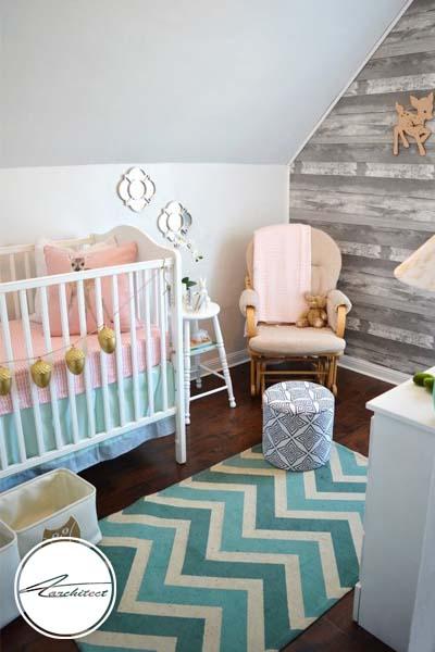 اتاق کودک زیر شیروانی -اتاق کودک