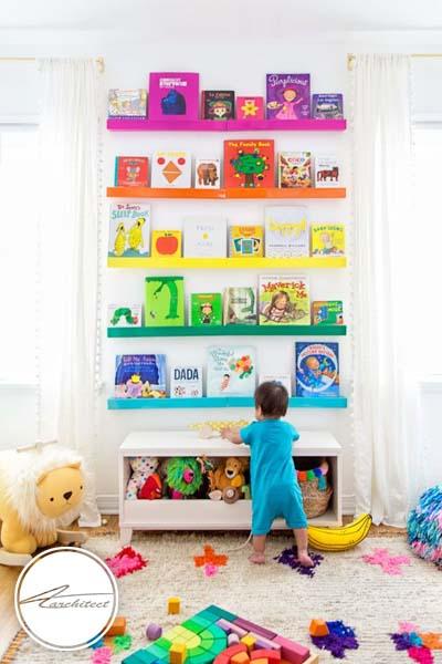 احساس رنگین کمان در اتاق -اتاق کودک