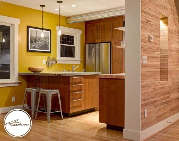 زرد آفتابگردان -ترکیب رنگ آشپزخانه