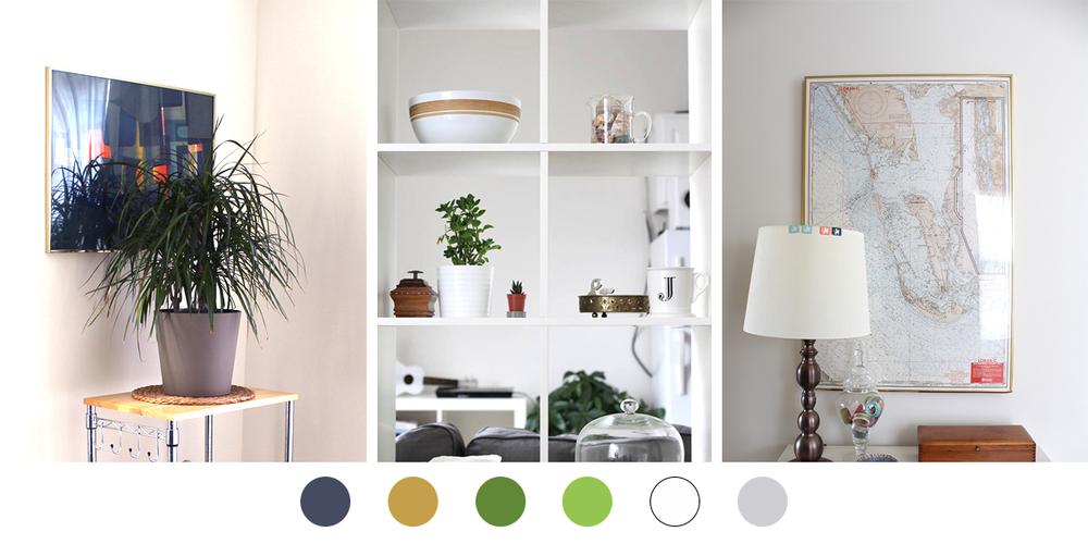 6 ترکیب رنگ عالی برای بخش های مختلف خانه