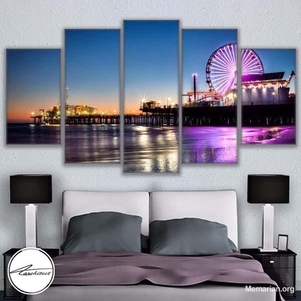 استفاده از بهترین طرح تابلو نقاشی جهت استفاده در اتاق خواب ها -تاثیر تابلو در خانه