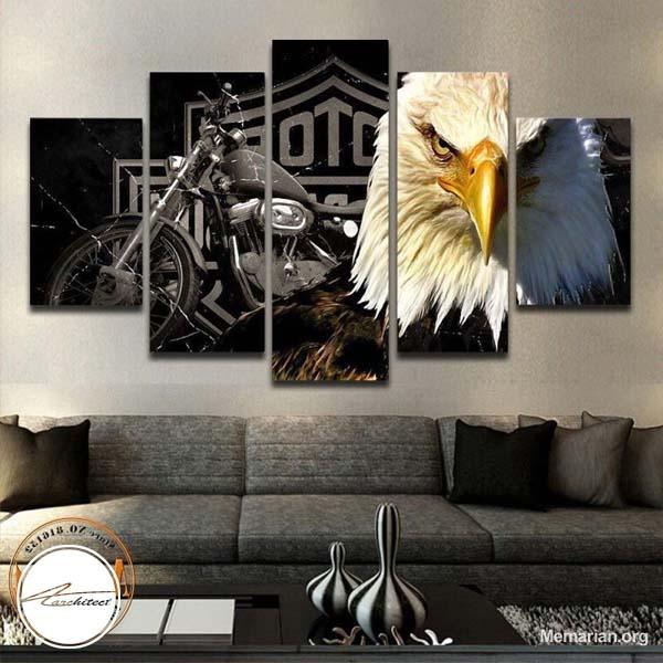 مدل های جدید تابلو نقاشی و تابلو عکس در خانه (3)