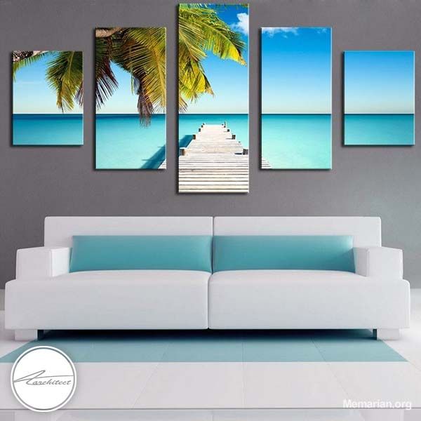 مدل های جدید تابلو نقاشی و تابلو عکس در خانه (5)