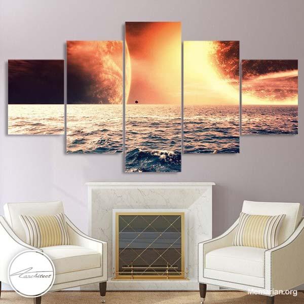 مدل های جدید تابلو نقاشی و تابلو عکس در خانه (6)