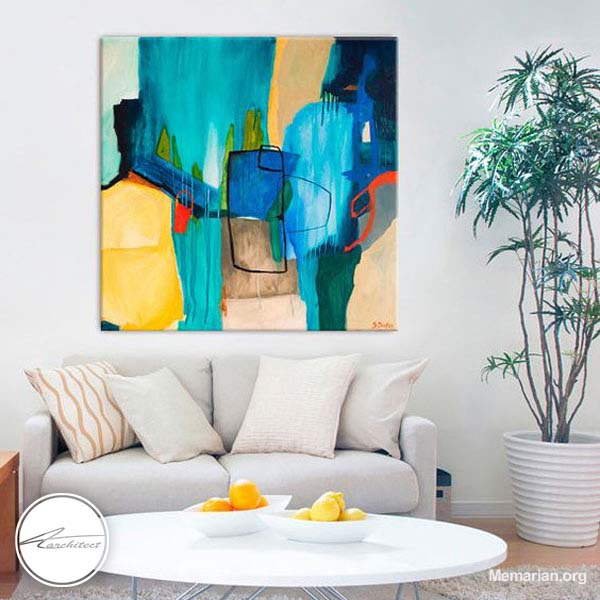 مدل های جدید تابلو نقاشی و تابلو عکس در خانه (8)