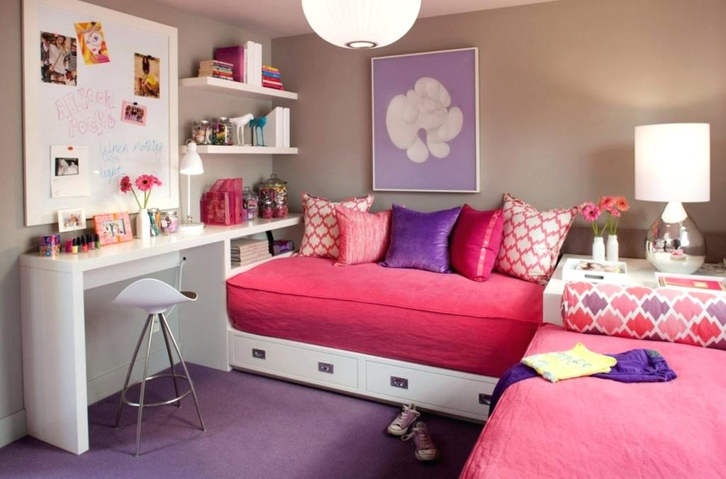 20 ایده دکوراسیون اتاق دختر شیک و سرگرم کننده